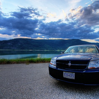 Rental Car by the Lake