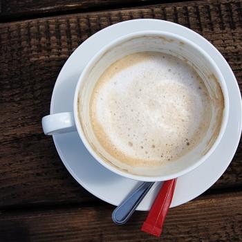 Kaffee auf dem Spree